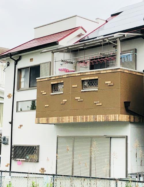 八尾市M邸外壁